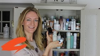 What's in my bathroom cabinet? (Skincare - Editor's Vlog) | Get The Gloss