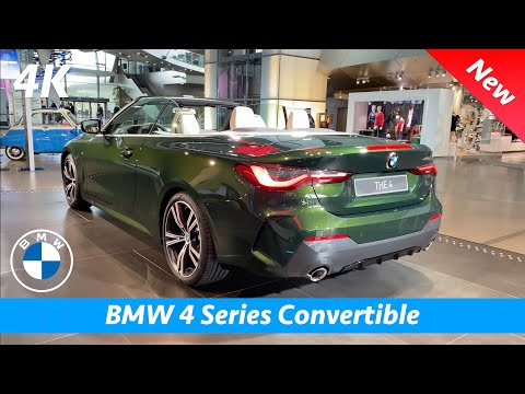 BMW 4 Series Convertible 2021 - FIRST look in 4K | Interior - Exterior (430i M Sport), PRICE