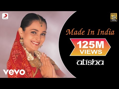 Alisha Chinai - Made In India Official Video | Milind Soman | Biddu | Ken Ghosh