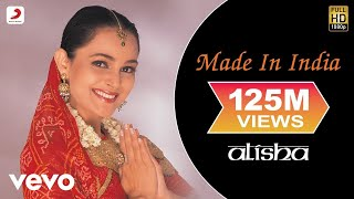 Alisha Chinai   Made In India Video