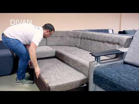 Элегант-3 диван угловой