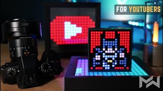 MOST FUNCTIONAL Tech Creators Desk Accessory Combo - Divoom Timebox-Evo & Pixoo Review