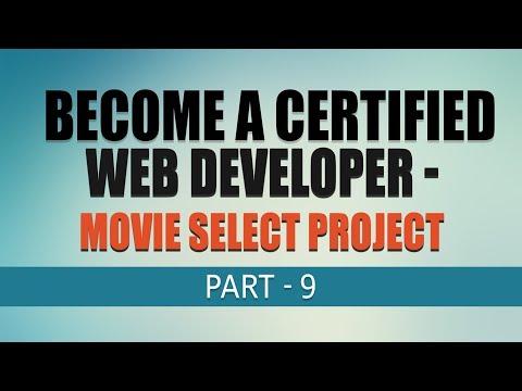 Free Complete Web Development Tutorial | Movie Select Project | Part 9 | Eduonix