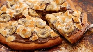 Dessert Pizza (No-Knead Brioche Dough Recipe) - Gemma's Bigger Bolder Baking Ep 73