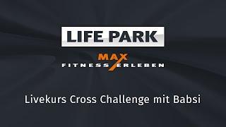 Cross Challenge mit Babsi (Livemitschnitt vom 3.6.2020)