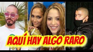 Qué esconden Bad Bunny, Shakira, J Balvin y Jennifer Lopez ?