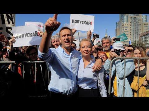 Αντικυβερνητική διαδήλωση στη Μόσχα