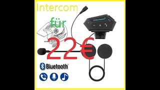 Intercom Wireless Earphone BT-12   Alternative zu teuren Marken - 22€ SENA Killer?    Kawasaki Z125