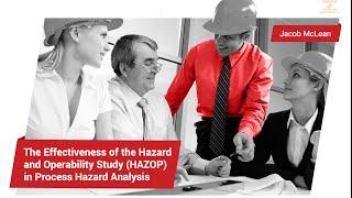 La efectividad del análisis funcional de operabilidad en el análisis de riesgos de procesos
