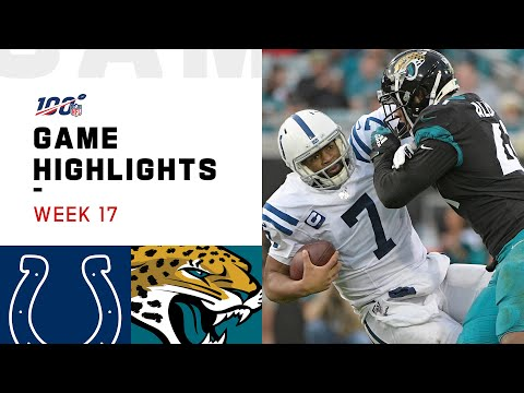 Download Colts vs. Jaguars Week 17 Highlights | NFL 2019 Mp4 HD Video and MP3
