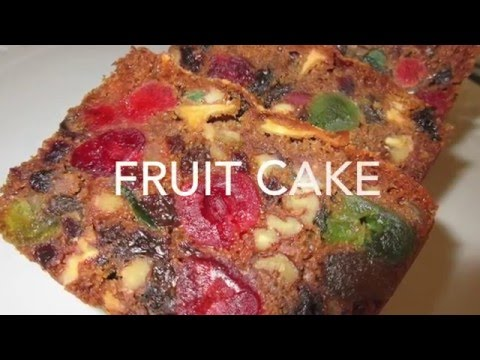 Video FRUIT CAKE - How to make FRUITCAKE Recipe