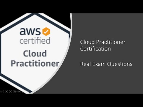 AWS Certification Real Exam Questions - Cloud Practitioner - PART ...
