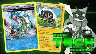Zebstrika  - (Pokémon) - Pokémon TCG Deck Profile - Gyarados/Zebstrika! | Deck Tech Thursday #39