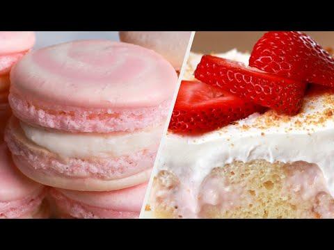 Recipes For Strawberry Lovers • Tasty Recipes