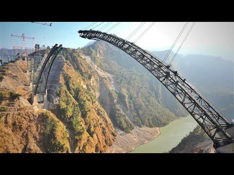 Как тебе такое, Китай? Индия строит самый высокий железнодорожный мост в мире