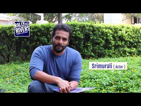 Kannada Actor Murali for Rally for Rivers