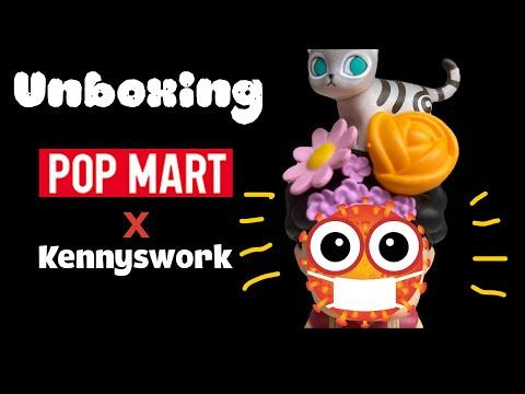 #Unboxing QQ #PopMart Molly #泡泡玛特 x Kennyswork #shorts