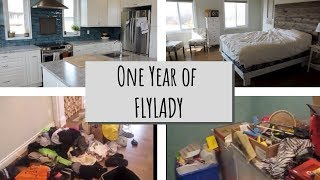 One Year Of Using The Flylady System | Before And After