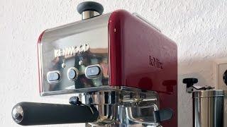 Kenwood ES - kMix Espressomaschine - Siebträger - Unboxing - Deutsch - 2016
