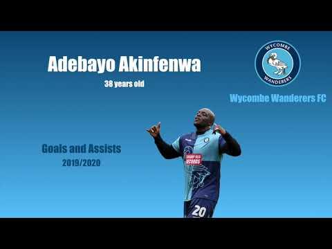 Adebayo Akinfenwa, the strongest player in English...