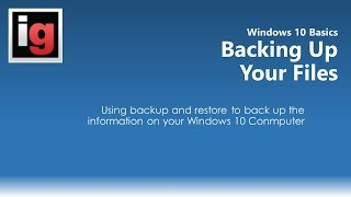 How to Back Up Your Files/Computer in Windows 10