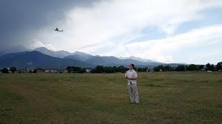 """Первый опыт обращения с RC-моделями. Самолет Wltoys Cessna 182 F949 """"Шмель"""". Сборка и первый полет."""