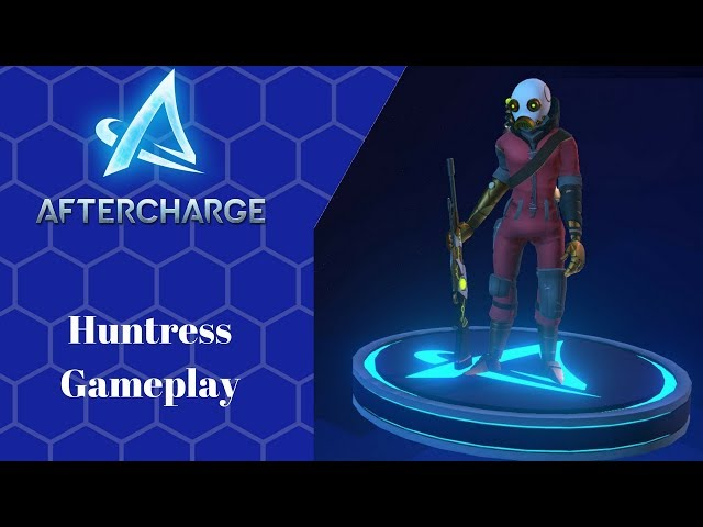 Aftercharge Open Alpha Test (Huntress Gameplay)