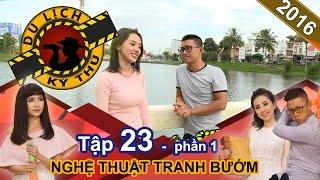 Miko Lan Trinh cùng Thiên Vương lặn lội lên Bảo Lộc vẽ tranh bướm | DLKT #23 | Phần 1 | 220916