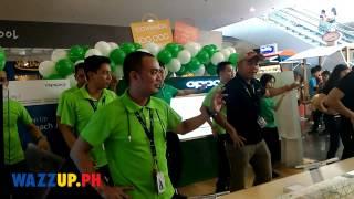 OPPO Dance SM Mall Of Asia OPPO Joy 3 Launch
