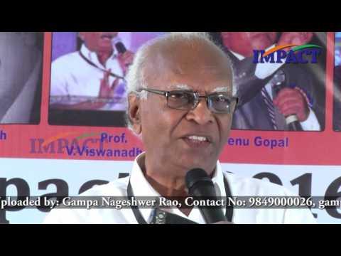 Change|V Viswanadham| TELUGU IMPACT Anantapur 2016