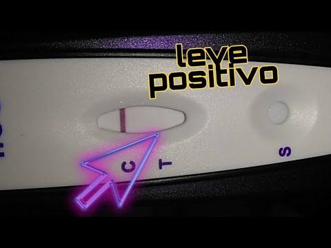One step prueba de embarazo con linea floja si es positiva la prueba de embarazo