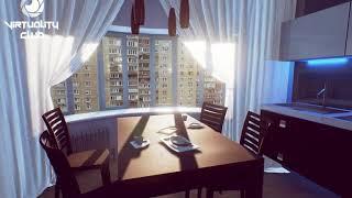 Интерьер квартиры в виртуальной реальности