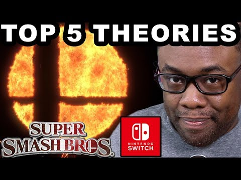 SMASH BROS on NINTENDO SWITCH?? - Top 5 Theory Predictions (Black Nerd)