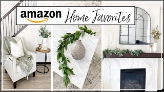 AMAZON HOME FAVORITES | Amazon Home Essentials | Affordable Home Decor