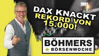 Was folgt nach dem neuen DAX-Rekord von 15.000 Punkten?