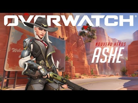 Présentation de Ashe  de Overwatch