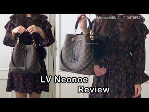 LOUIS VUITTON Neonoe Review, Monogram Noir M44020