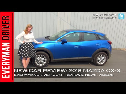 2016 Mazda CX-3 AWD Review on Everyman Driver