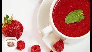Суп-смузи из клубники и малины | рецепт