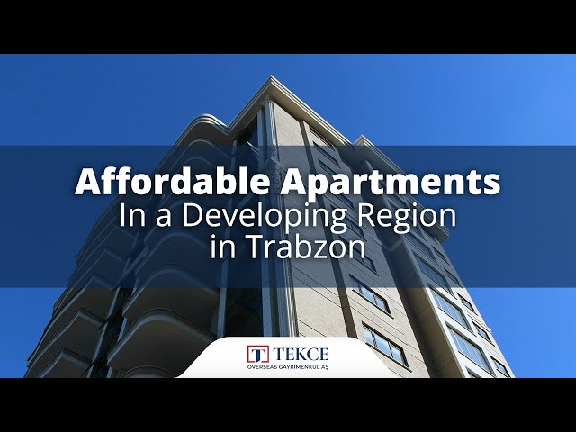Apartments with Green Areas in Ortahisar, Trabzon.