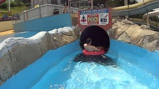 Scary Mississippi Water Slide at Splashdown Poole