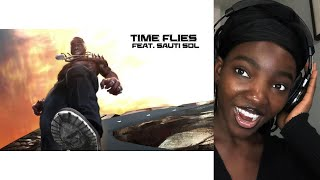 Burna Boy - Time Flies ft Sauti Sol Reaction