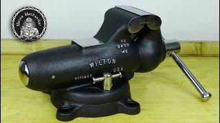 1949 Wilton 9400 Antique Bullet Vise - Perfect Restoration
