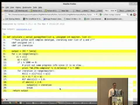 Image from High Performance Python I