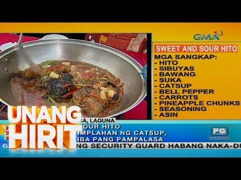 [GMA]  Unang Hirit Blowout sa Brgy. Hito sa Calamba, Laguna