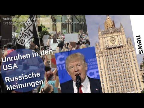 Unruhen in den USA: Russische Meinungen [Video]