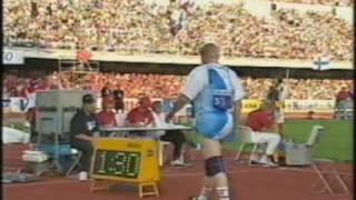 Seppo Räty 82.90m Javelin Helsinki 1994