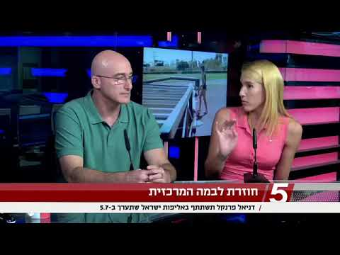 ראיון בערוץ הספורט אצל טל ברמן עם דניאל פרנקל שיאנית ישראל בקפיצה לגובה