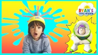 WET HEAD CHALLENGE game for kids with  Egg Surprise Toys