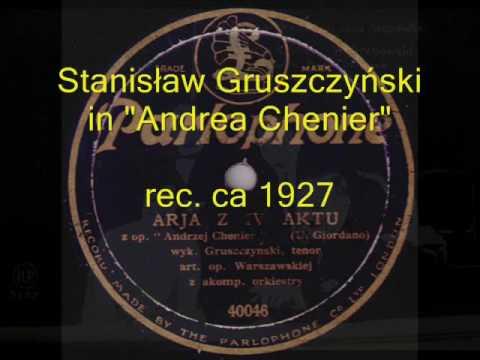 Old Tango from Poland: Stanisław Gruszczyński - Come To Me! (Przyjdź) 1932